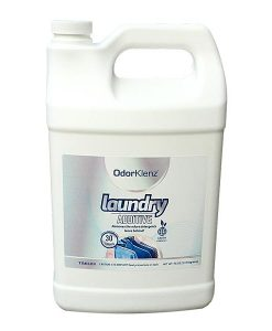 OdorKlenz Liquid Laundry additive is designed to remove mildew smells in clothes and linens as well as remove fragrances from detergents and fabric softeners.