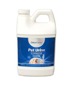 get urine smell out of carpet