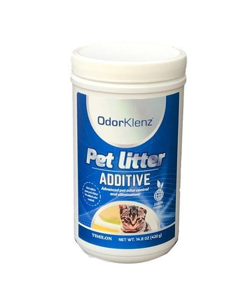 remove litter box odors