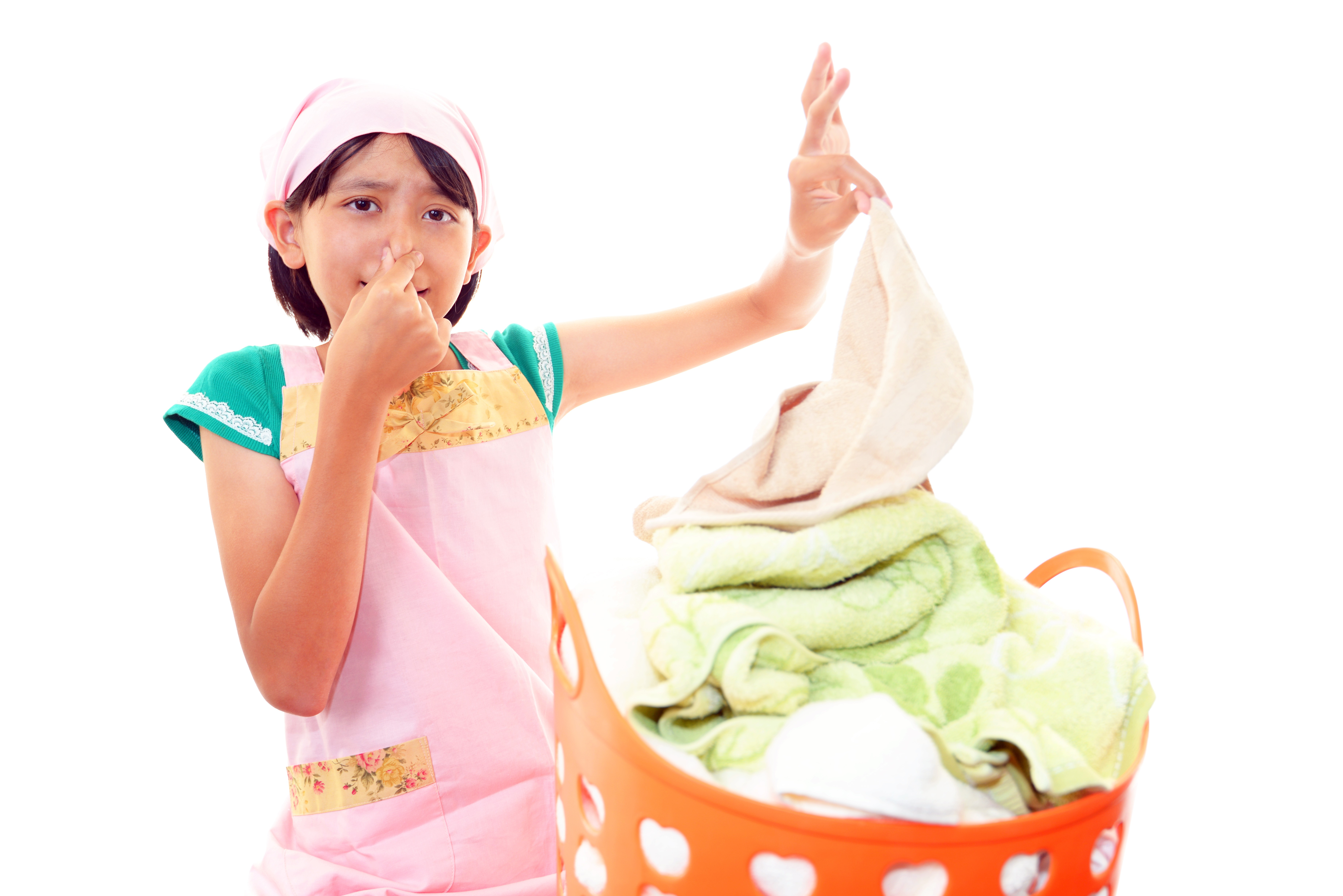 remove mildew smell from towels | OdorKlenz