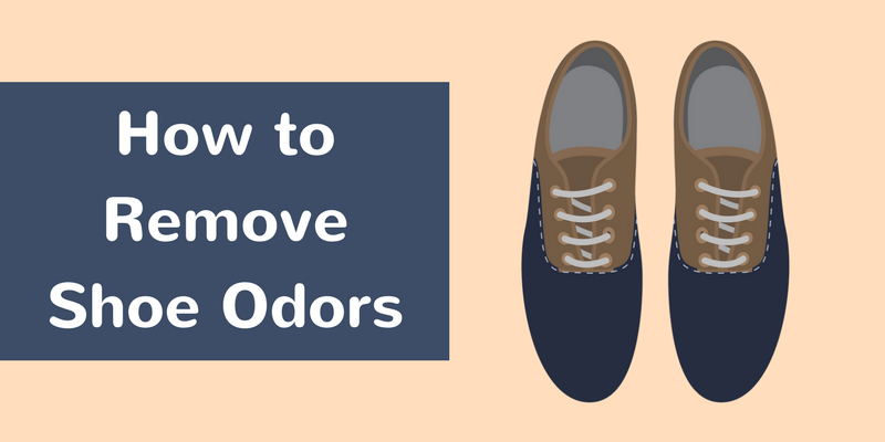 How To Remove Shoe Odors
