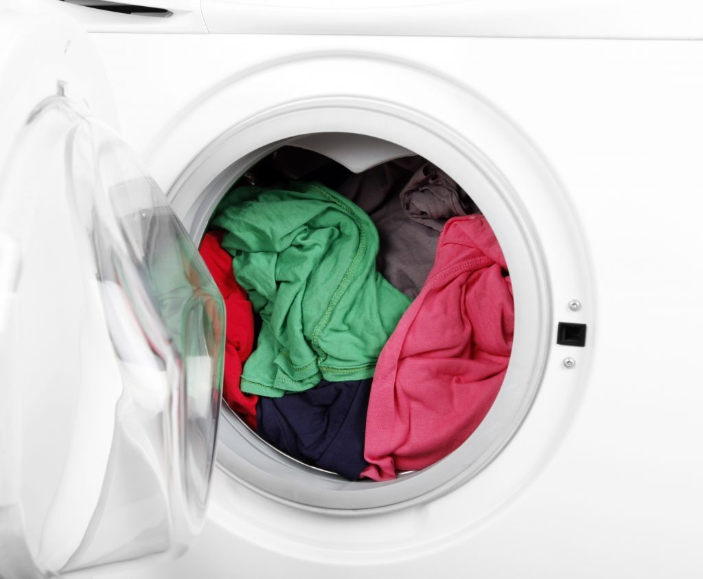 how to remove mold smell from washing machine