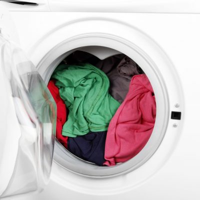 remove musty odors from front load washer