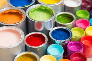 how to remove paint odors fast