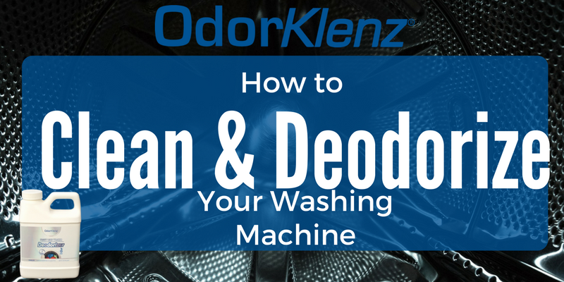 How to Clean and Deodorize Your Washing Machine
