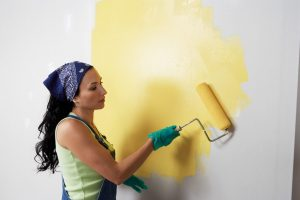 remove paint odors with an air purifier