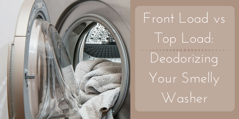 Front Load vs Top Load: Deodorizing Your Smelly Washer