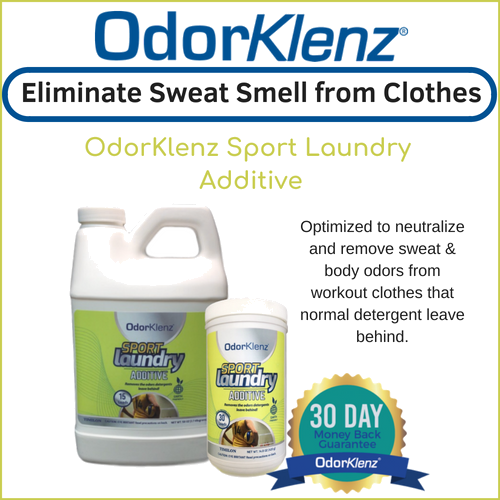 Eliminate Sweat Smell From Clothes