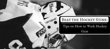 How to Wash Hockey Gear