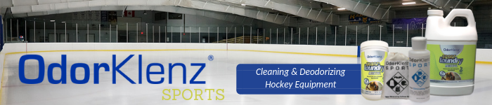 Cleaning & Deodorizing Hockey Equipment