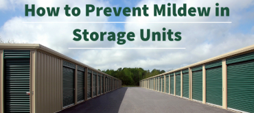 How to Prevent Mildew in Storage Units