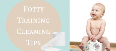 Potty Training Cleaning Tips